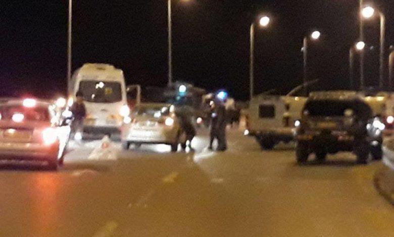 الاحتلال يطلق النار على سائق مركبة قرب رام الله