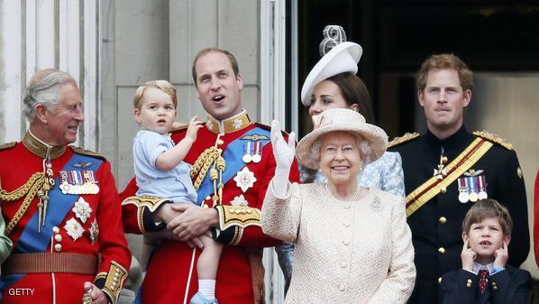صورة الملكة البريطانية