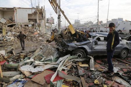 مقتل 33 شخصًا في انفجار جنوب بغداد