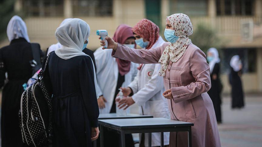 وفاتان و368 اصابة جديدة بفيروس كورونا في قطاع غزة
