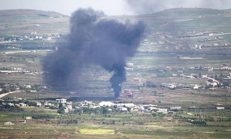 قصف سيارة في القنيطرة
