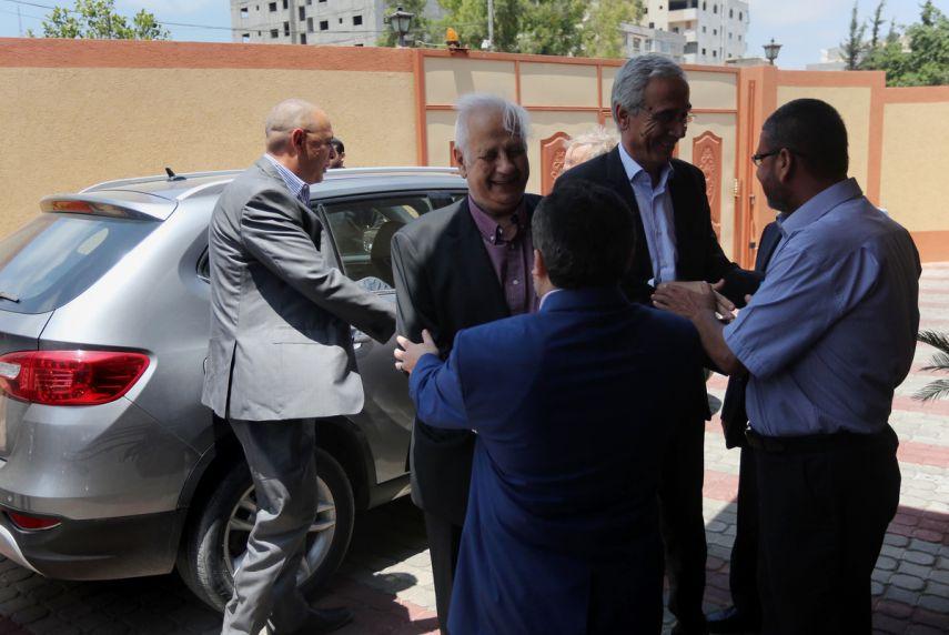 لجنة الانتخبات في غزة
