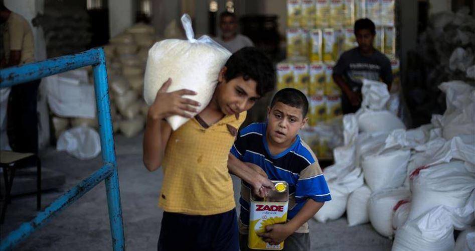 المساعدات التركية إلى غزة