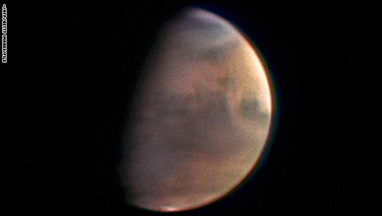 صورة أرشيفية لكوكب المريخ