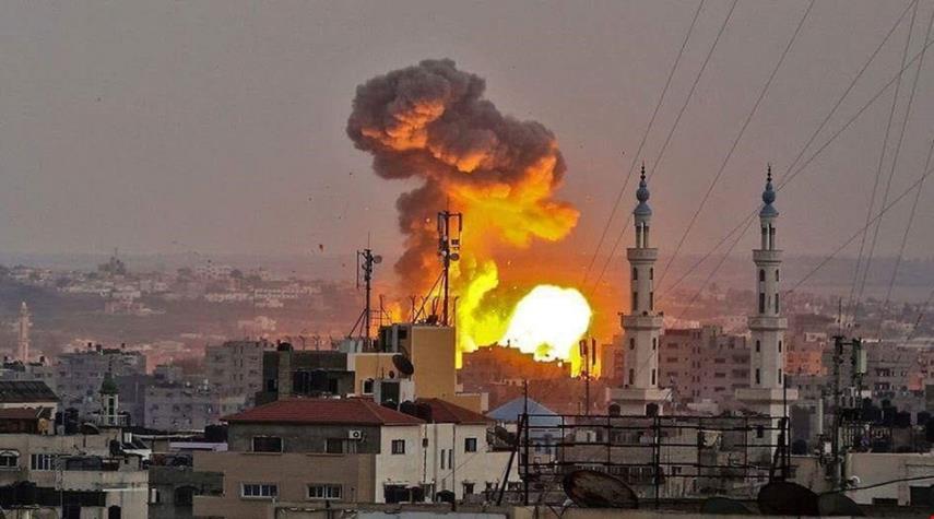 طيران الاحتلال يشن سلسلة غارات جديدة على قطاع غزة