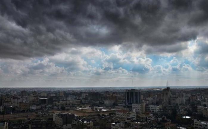 الطقس: أجواء غائمة جزئيا وأمطار متفرقة