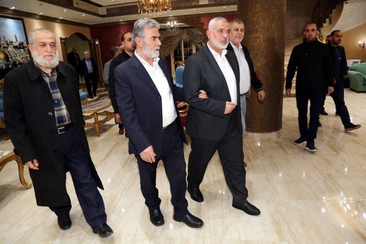 الجهاد الإسلامي يُعلن اختتام زيارة وفده للقاهرة