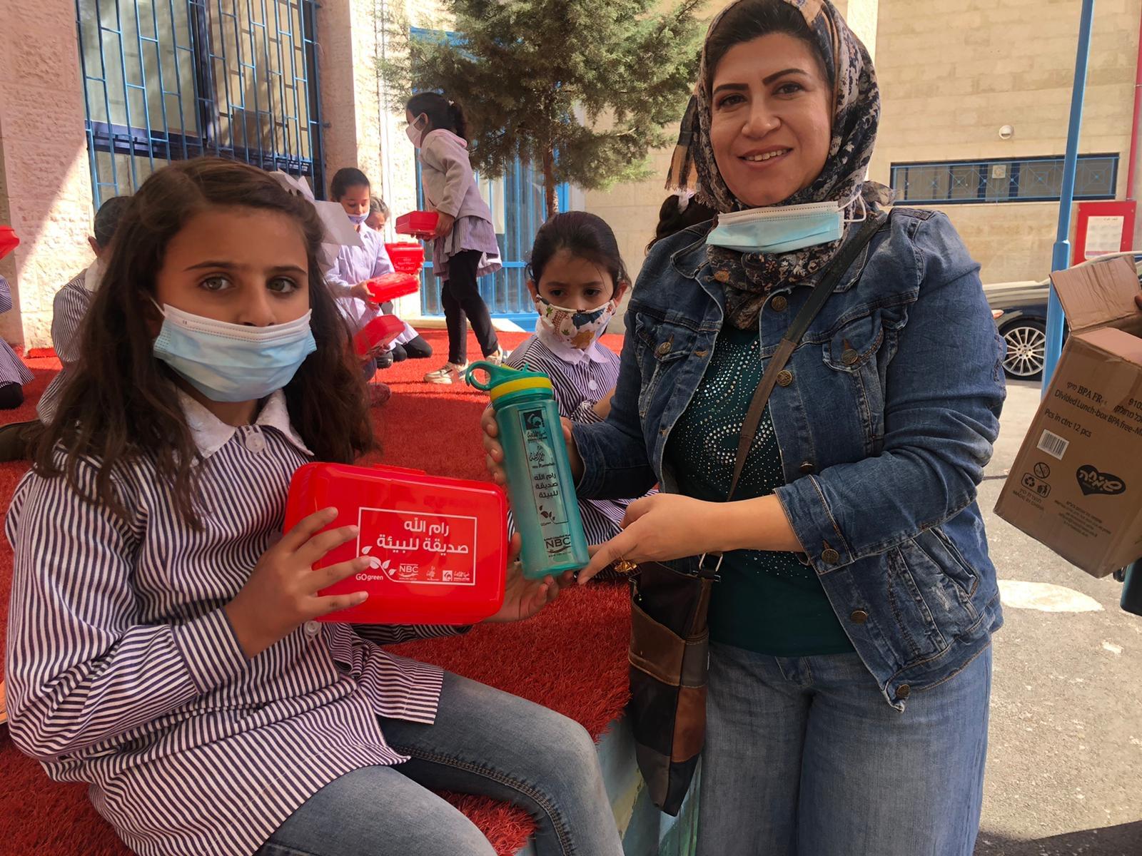 برعاية من المشروبات الوطني..بلدية رام الله تنفذ مشروع التوعية البيئية للمدارس للعام الدراسي 2020/2021