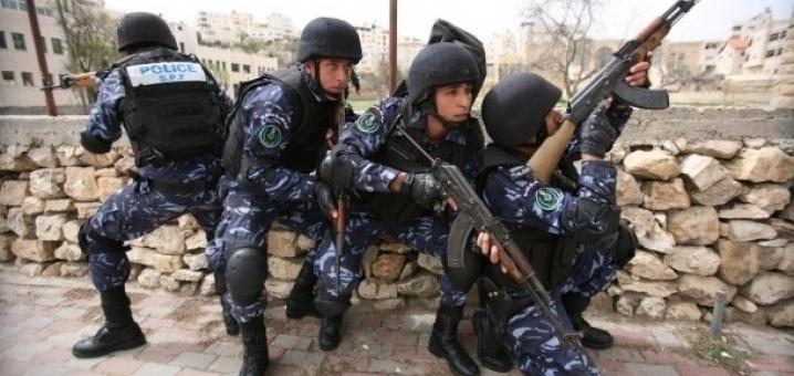 شرطة فلسطينية