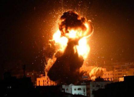 طائرات إسرإئيلية تشن سلسلة غارات على غزة والمقاومة ترد بقصف المستوطنات