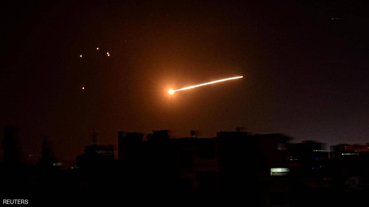 """الدفاعات السورية تتصدى """"لعدوان إسرائيلي"""" في سماء حمص"""