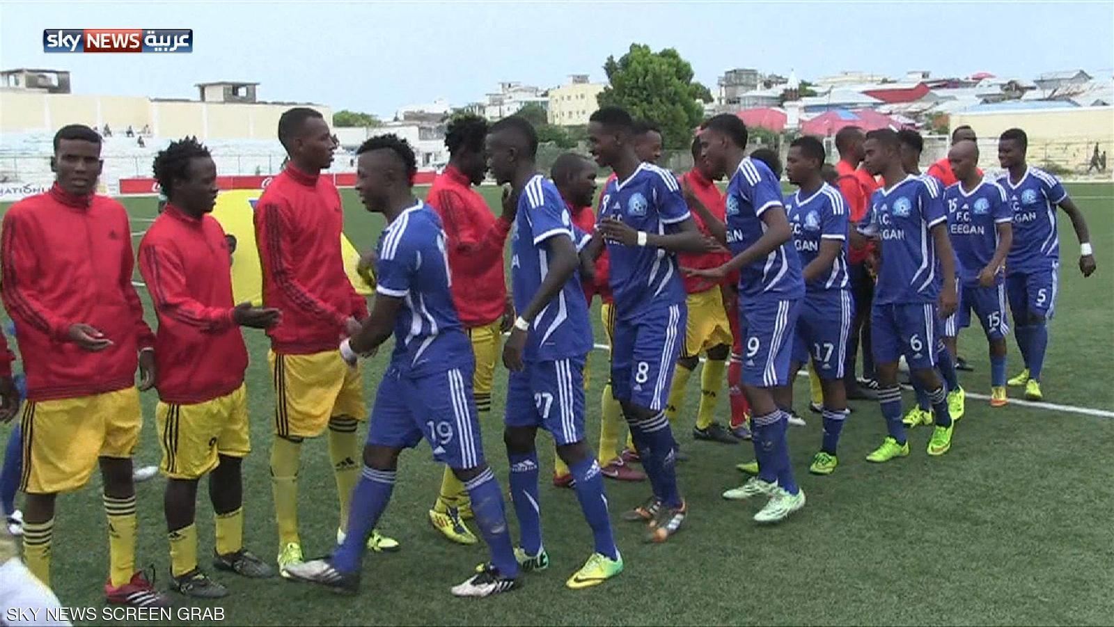 لأوّل مرّة في الصومال.. نقل مباراة كرة قدم تلفزيونيًا
