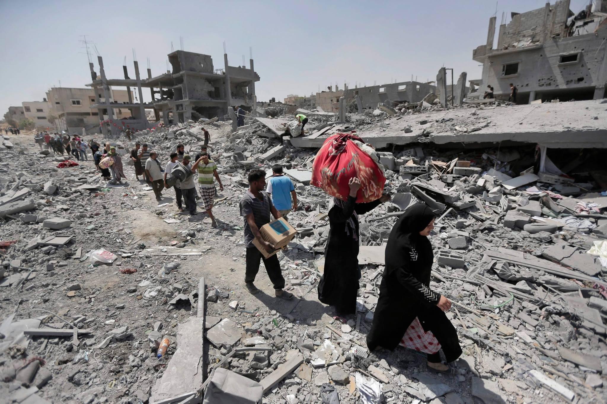 نازحو غزة