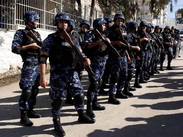 الشرطة الفلسطينية في الرام