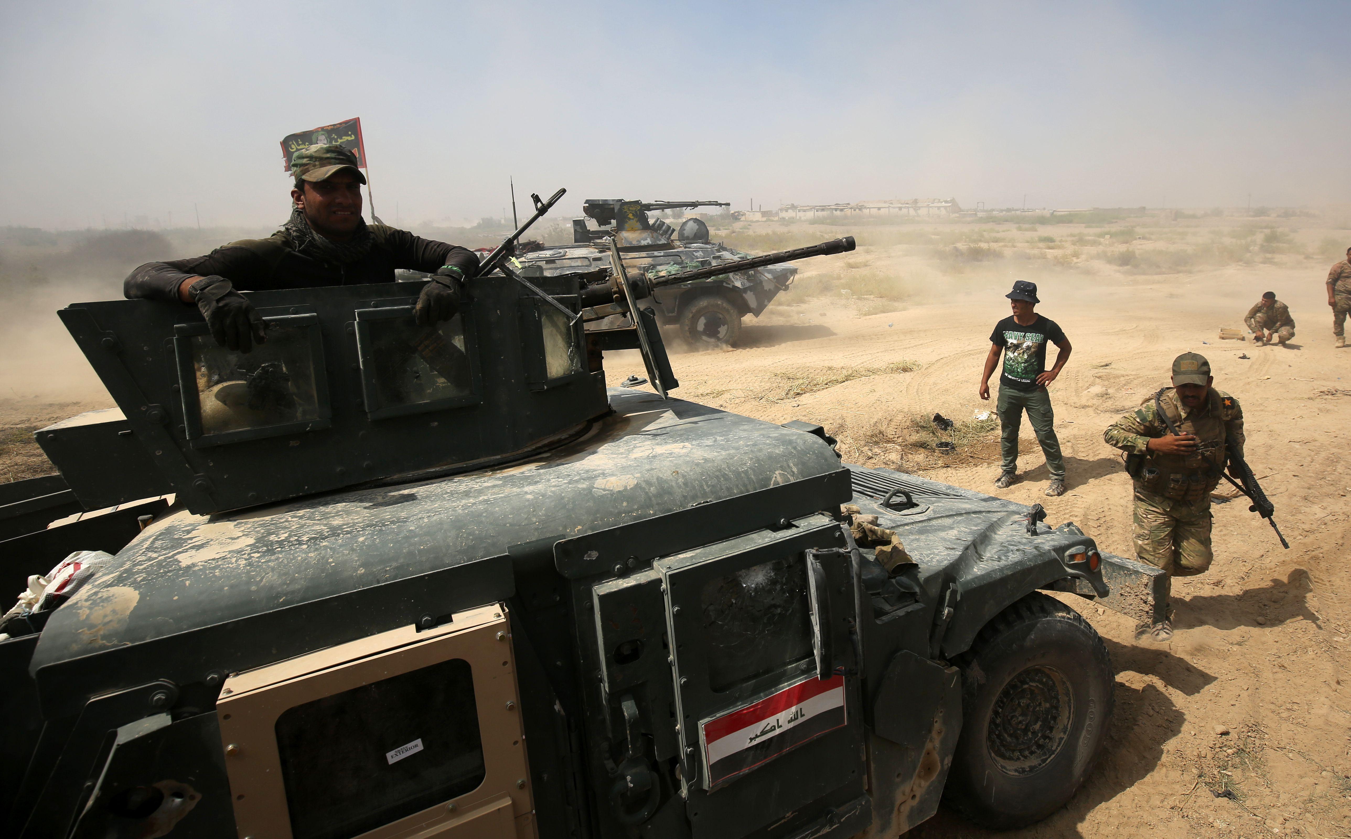 مقتل مصور صحفي عراقي في معارك الفلوجة