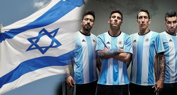 المنتخب الارجنتيني يقرر اللعب في تل ابيب
