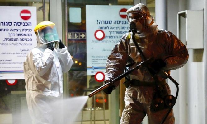 الصحة الإسرائيلية: 5 وفيات و2030 إصابة بفيروس كورونا