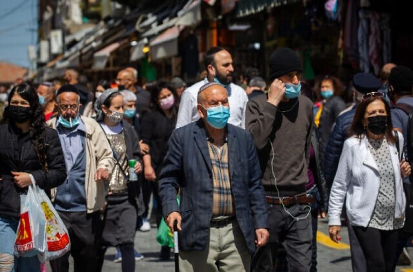 وقف ارتداء الكمامات في إسرائيل اعتبارا من الأحد