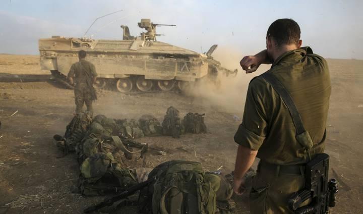 :شن عملية عسكرية واسعة في غزة