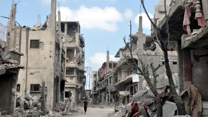 دمار قطاع غزة