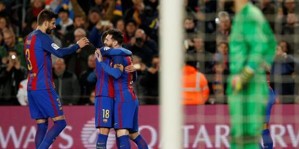 برشلونة يحقق فوزا صعبا على بيلباو وينفرد بصدارة الليغا