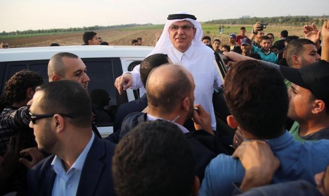 معاريف: مباحثات قطرية إسرائيلية للتوصل الى تهدئة بقطاع غزة