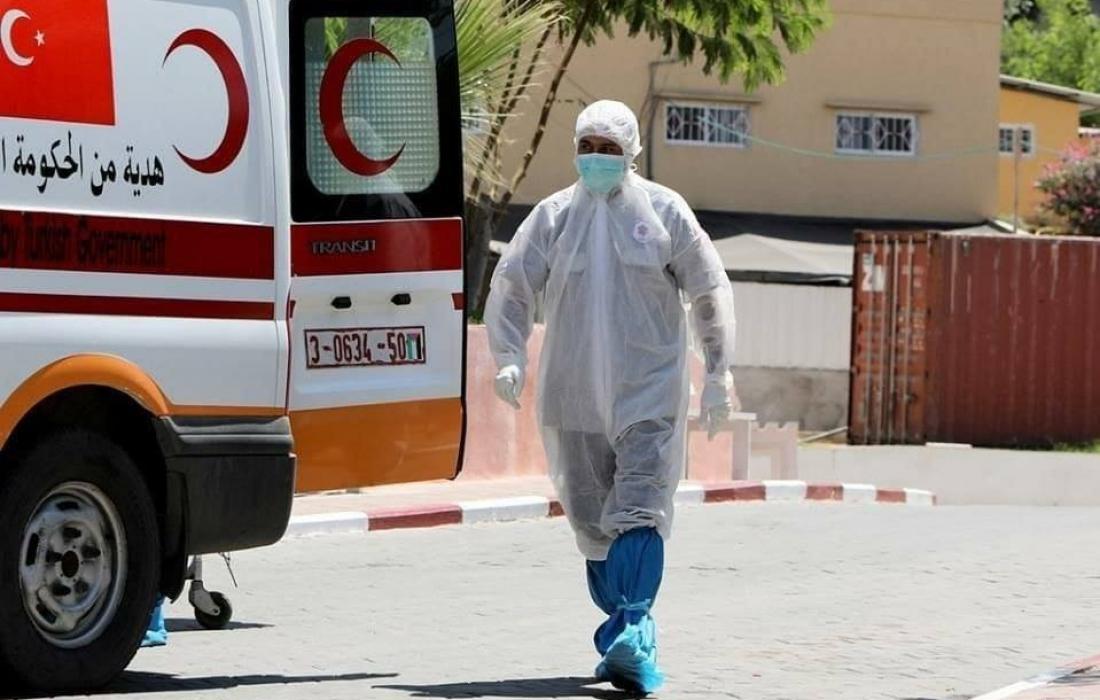 """""""كورونا فلسطين"""".. تسجيل 5 وفيات و209 إصابة خلال 24 ساعة"""