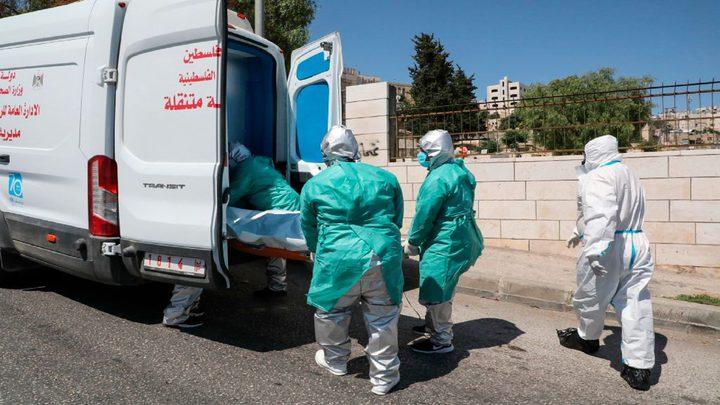"""وفاتان و115 إصابة جديدة بـ""""كورونا"""" في الضفة وغزة"""