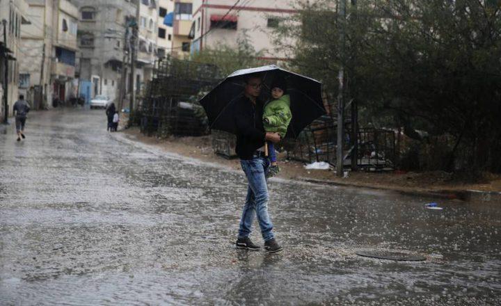 الطقس: أجواء شديدة البرودة وأمطار غزيرة حتى الثلاثاء