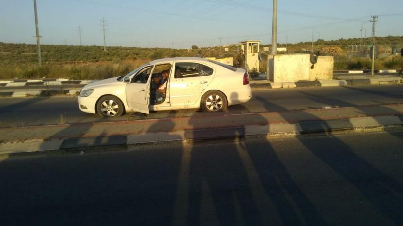 شهيدان برصاص الاحتلال على حاجز زعترا جنوب نابلس
