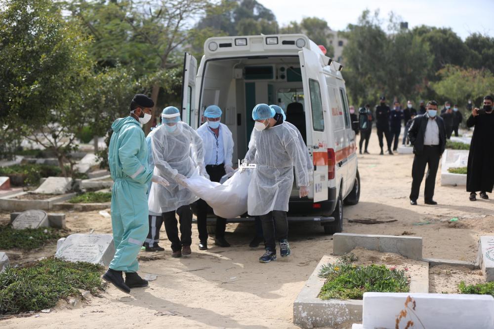 3 وفيات و123 إصابة جديدة بكورونا في الضفة وغزة