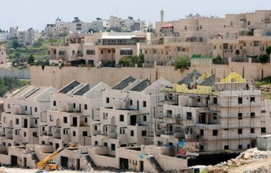 الاحتلال يطرح عطاءات بناء لـ 2600 وحدة استيطانية في الضفة