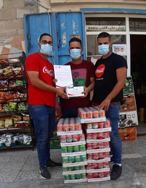 المشروبات الوطنية تتبرع بمنتجات كوكاكولا وكمامات طبية لخمسة آلاف متجر ومطعم