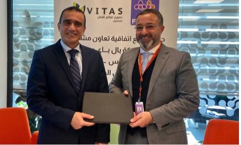 شركة PalPay توقع اتفاقية لتقديم خدمات المحفظة الإلكترونية لشركة شركة فيتاس فلسطين للاقراض والخدمات المالية
