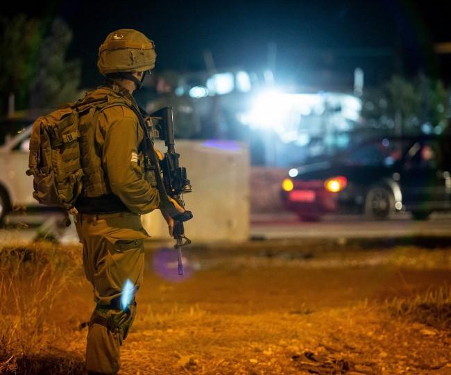حملة اعتقالات واسعة في نابلس والأغوار وبيت لحم