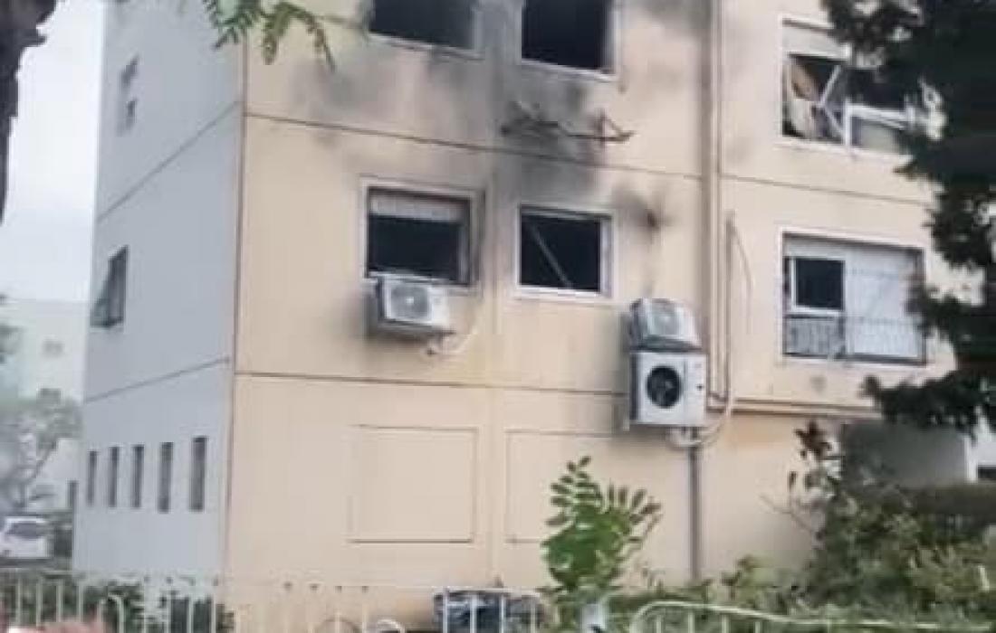 الاعلام العبري: 54 اصابة اثنين منها خطيرة جراء قصف عسقلان واسدود