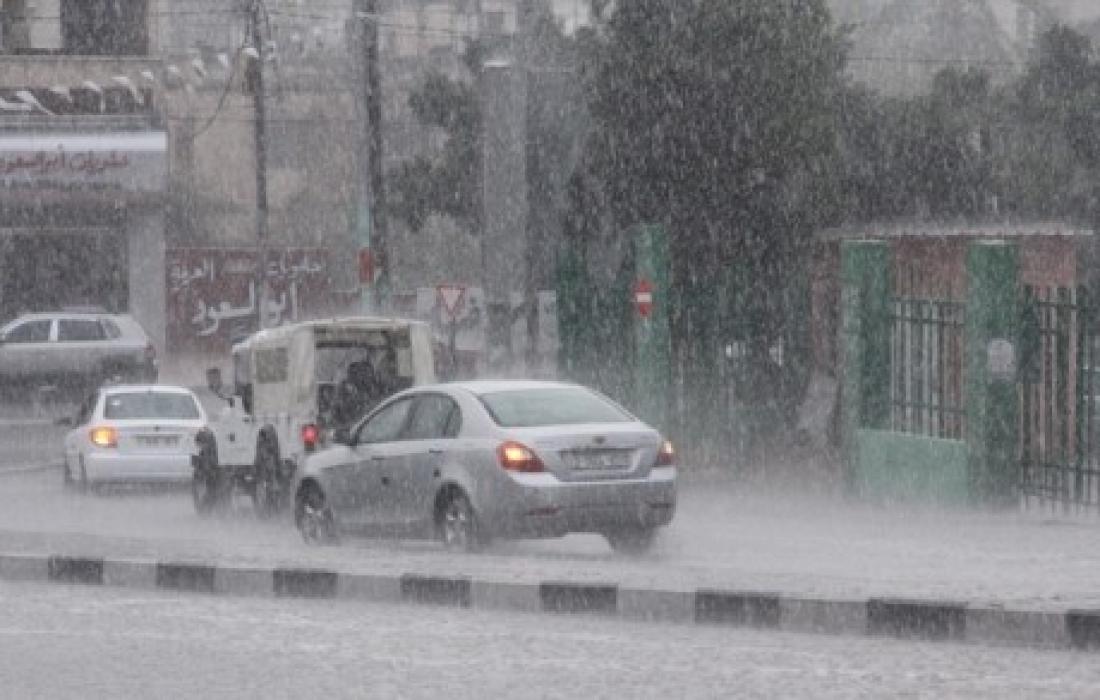 الطقس: أجواء باردة وأمطار فوق المناطق الشمالية