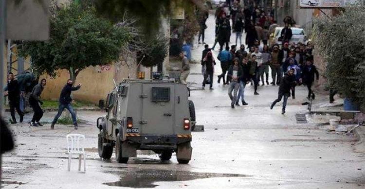 إصابات خلال مواجهات مع قوات الاحتلال جنوب نابلس