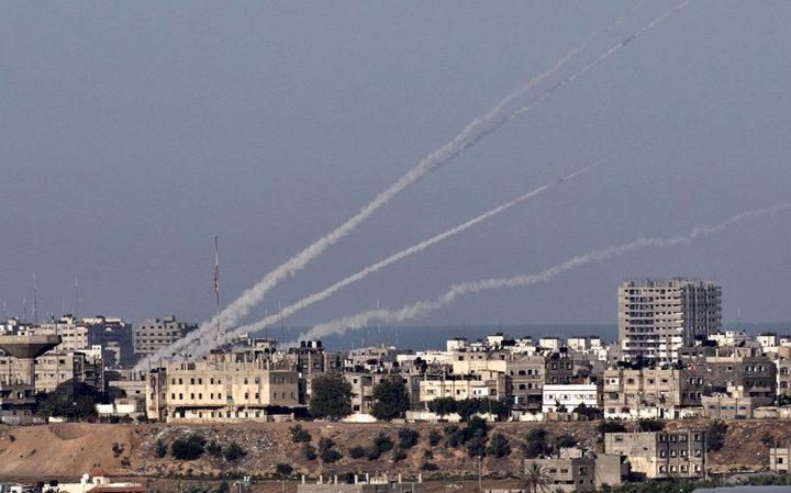 الاحتلال يزعم اطلاق صواريخ تجاه مستوطنات غلاف غزة