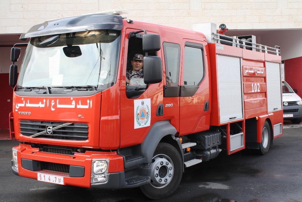 إصابة طفلة في حريق شمال رام الله