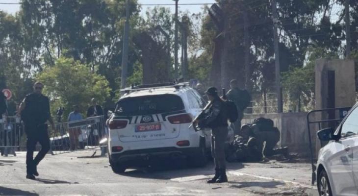 """بالفيديو إصابة 7 جنود """"اسرائيليين"""" بعملية دهس في حي الشيخ جراح واستشهاد المنفذ"""