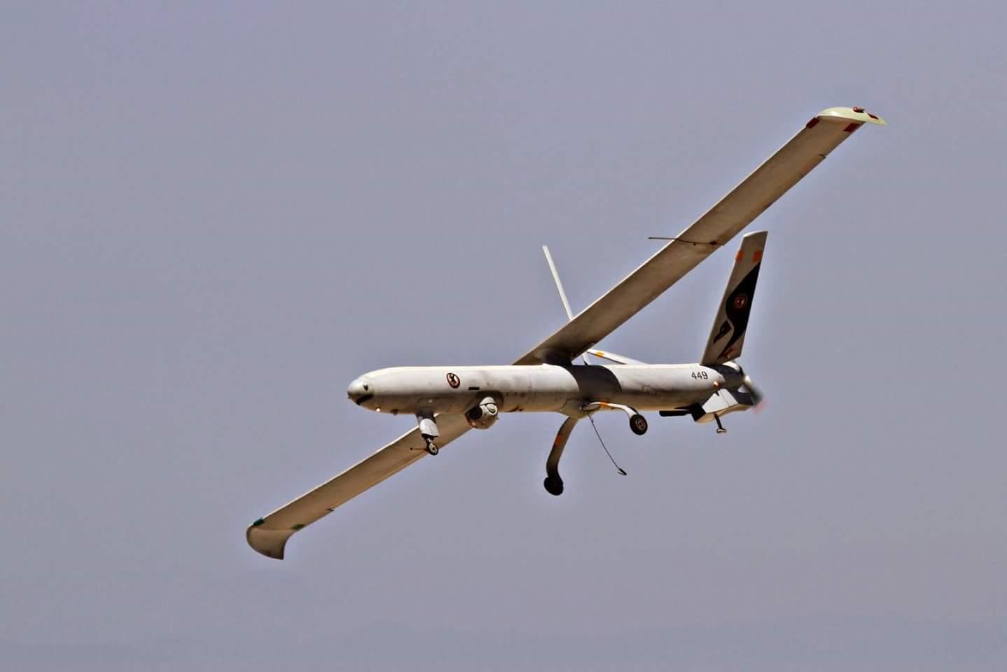 سقوط طائرة استطلاع عراقية شمال بغداد