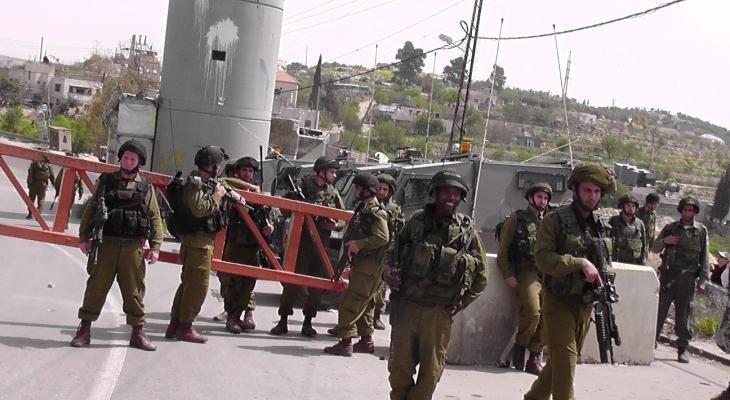 """الاحتلال يغلق حاجز """"الكونتينر"""" شرق بيت لحم"""