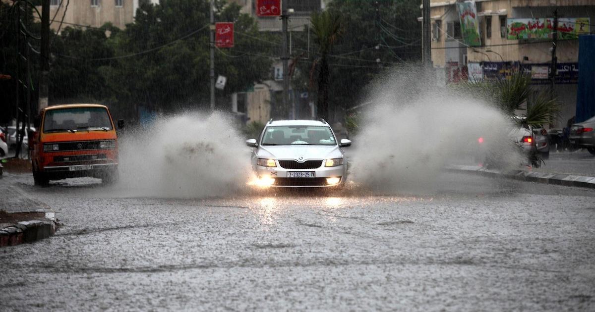 الأرصاد الجوية: منخفضين جويين يؤثران على فلسطين أولهما اليوم الاحد