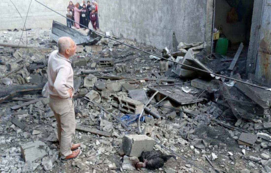 بالصور 18 إصابة في انفجار عرضي في أحد منازل ببيت حانون شمال القطاع
