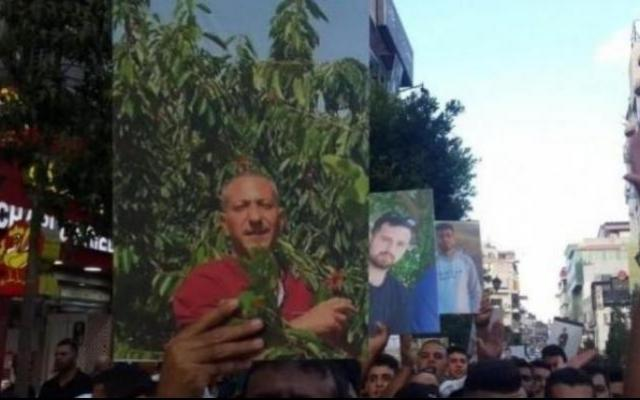 """أول ظهور للأسير العربيد منذ تعرضه للتعذيب على يد """"الشاباك"""""""