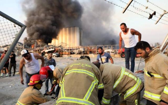 ارتفاع عدد ضحايا انفجار بيروت لـ135 والجرحى 5000