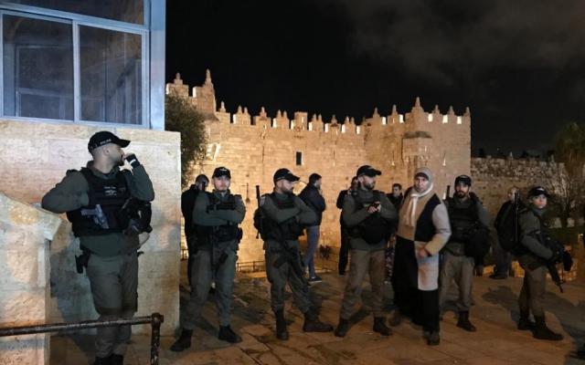 نشر الآلاف من عناصر الشرطة الإسرائيلية في القدس ورفع حالة التأهب مع غزة