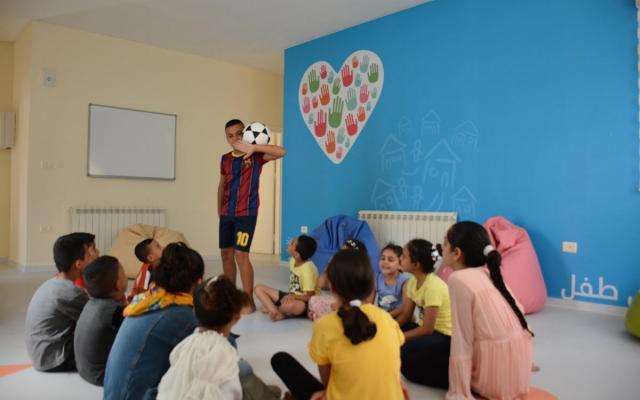 """بنك فلسطين يفتتح """"مشروع مساحة صديقة للأطفال"""" في قرية """"SOS""""ببيت لحم"""