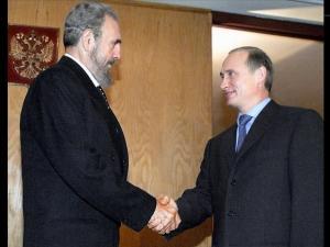 بوتين وكاسترو